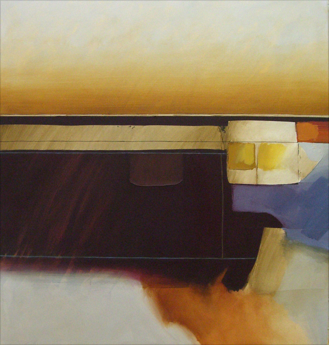 Jules Sher Landscape Rising Dust and Shadow