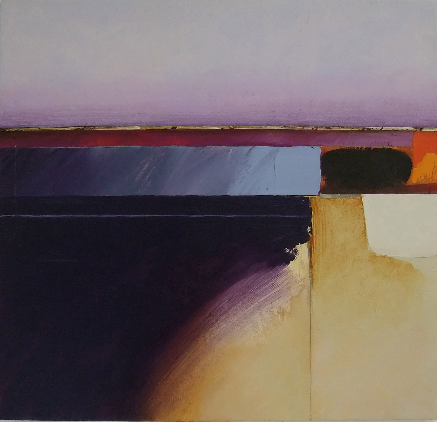 Jules Sher Study for Dawn Landscape