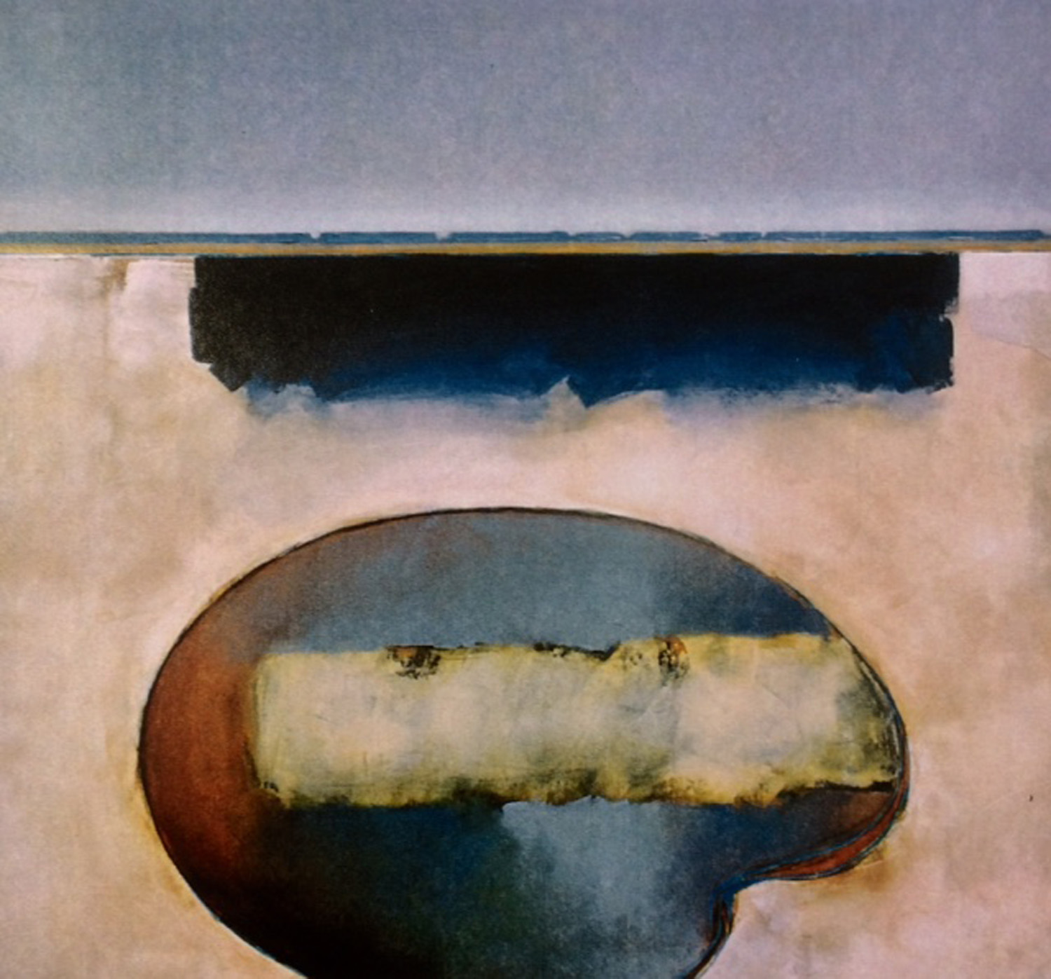 Jules Sher Cloud Shadow and Salt Pool Reflection 2003