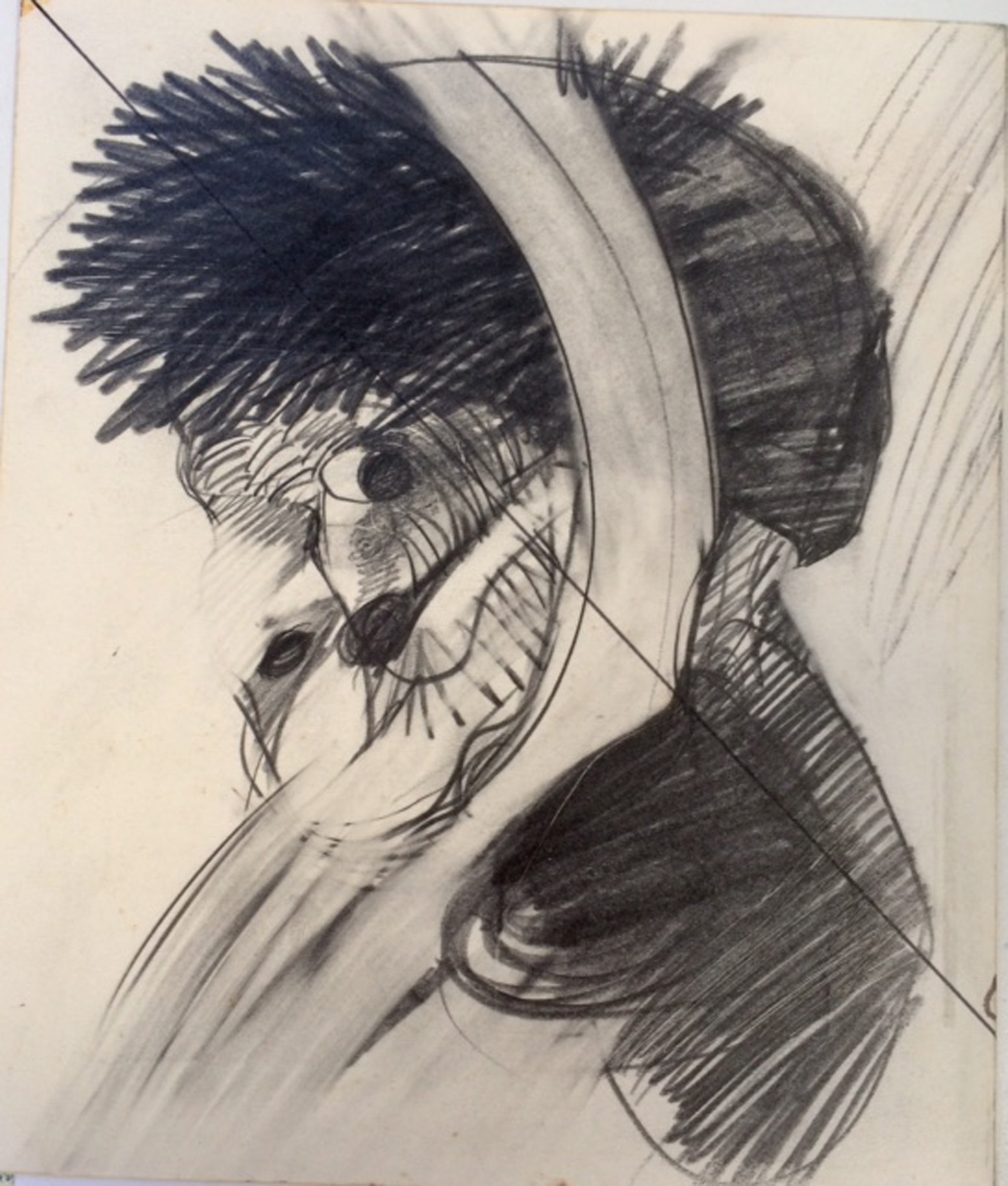 Jules Sher Portrait with Bandaged Ear II 1968 - Homage to Van Gogh