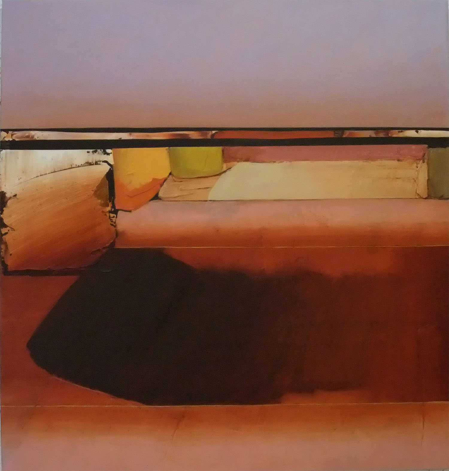 Jules Sher Rising Dust, Rock and Shadow 2008