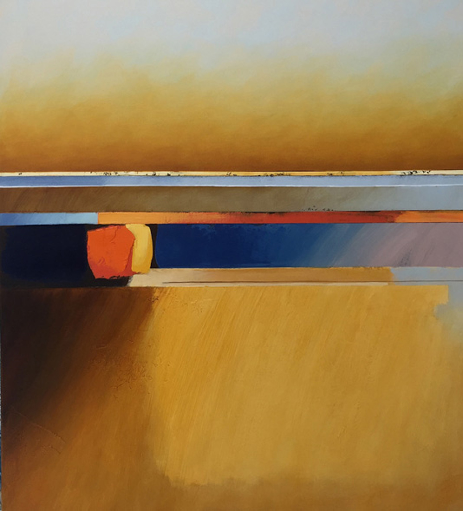 Jules Sher Rising Dust over Yellow Field 2020