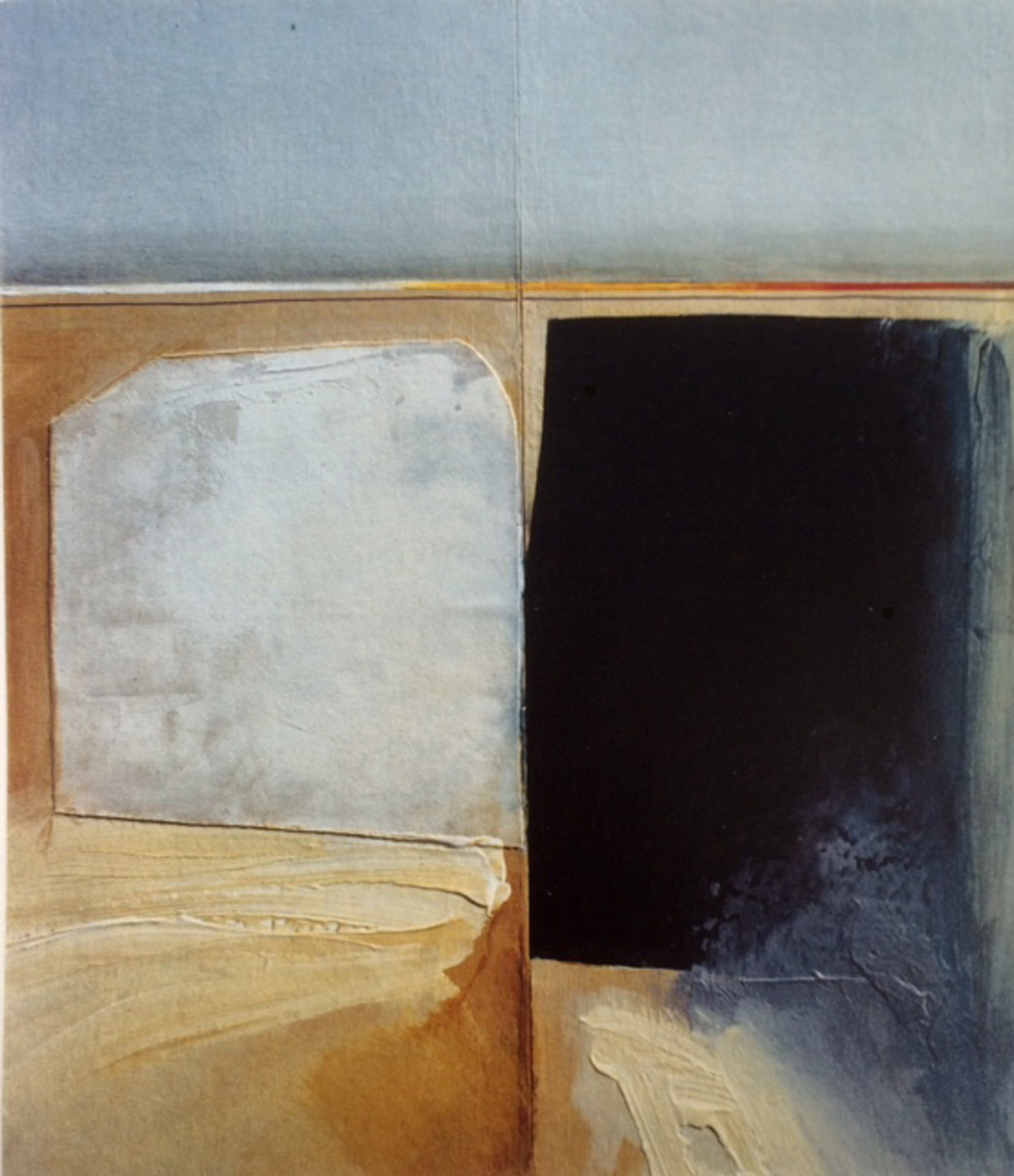 Jules Sher Salt Pan and Shadow The Nullarbor 1994